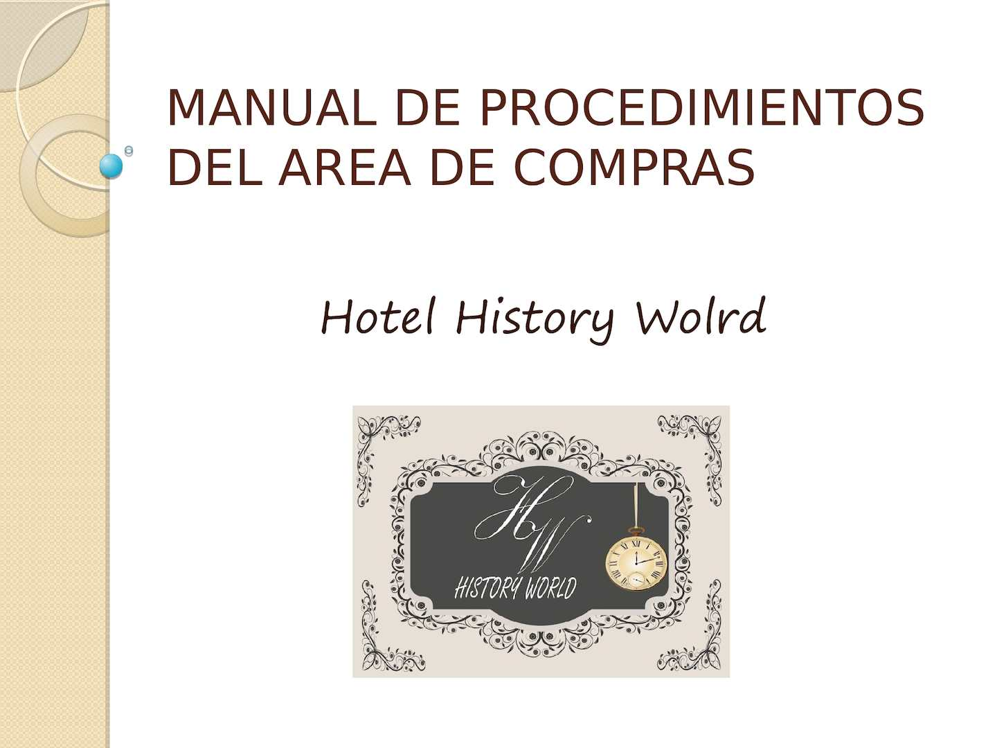 Calam o manual de procedimientos del area de compras for Manual de compras de un restaurante pdf