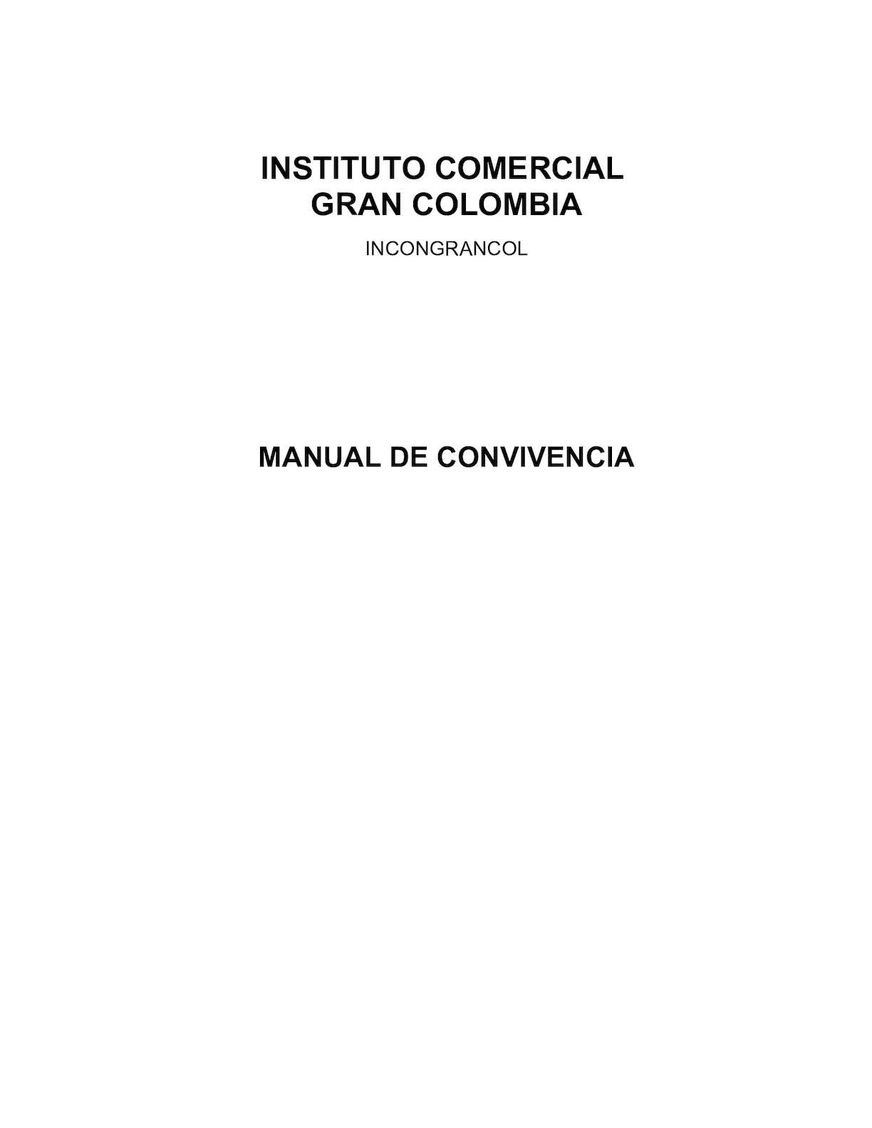 Calaméo - Manual De Convivencia 03 Dic 2014 (21 Ene 2015)