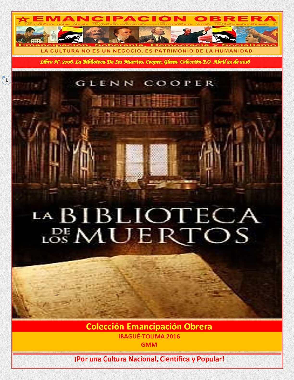 Calaméo - Libro N° 2706 La Biblioteca De Los Muertos Cooper c026f1d12d8