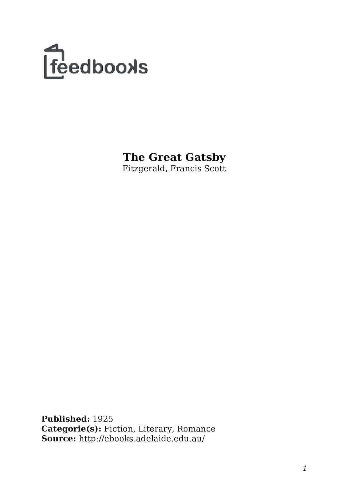 the great gatsby ewing klipspringer