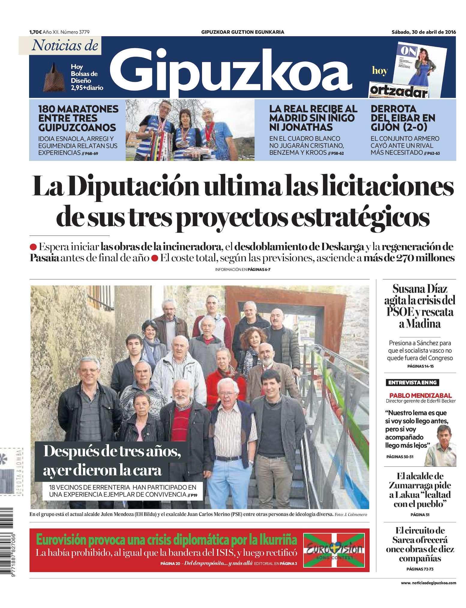 Calaméo - Noticias de Gipuzkoa 20160430