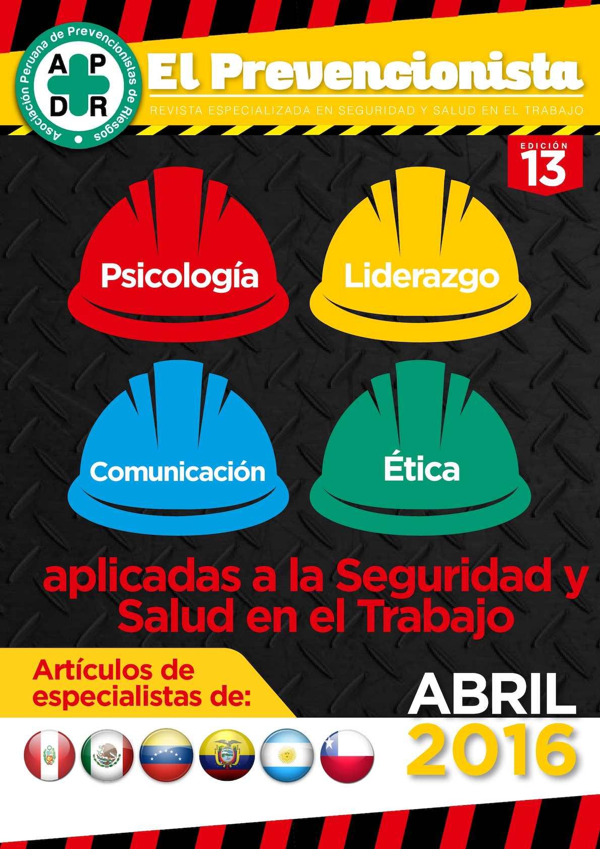 Revista El Prevencionista 13ava Ed