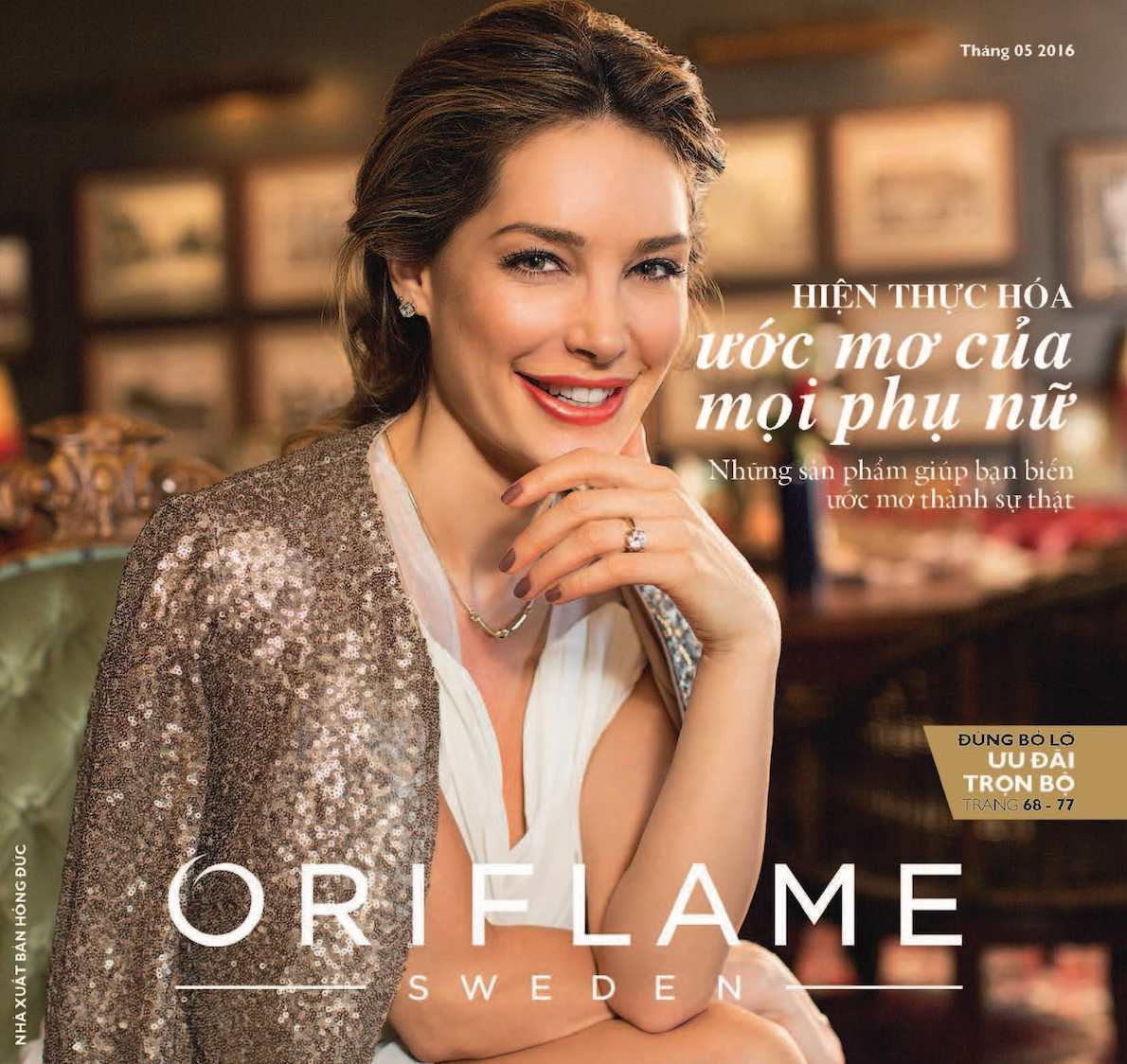 Catalogue My Pham Oriflame 5-2016