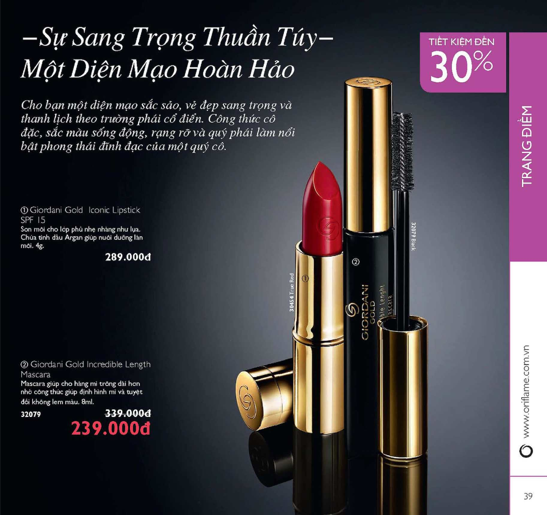 Catalogue My Pham Oriflame 5 2016 Calameo Downloader Giordani Gold Iconic Lipstick Spf 15 Lavender Lustre Page 39