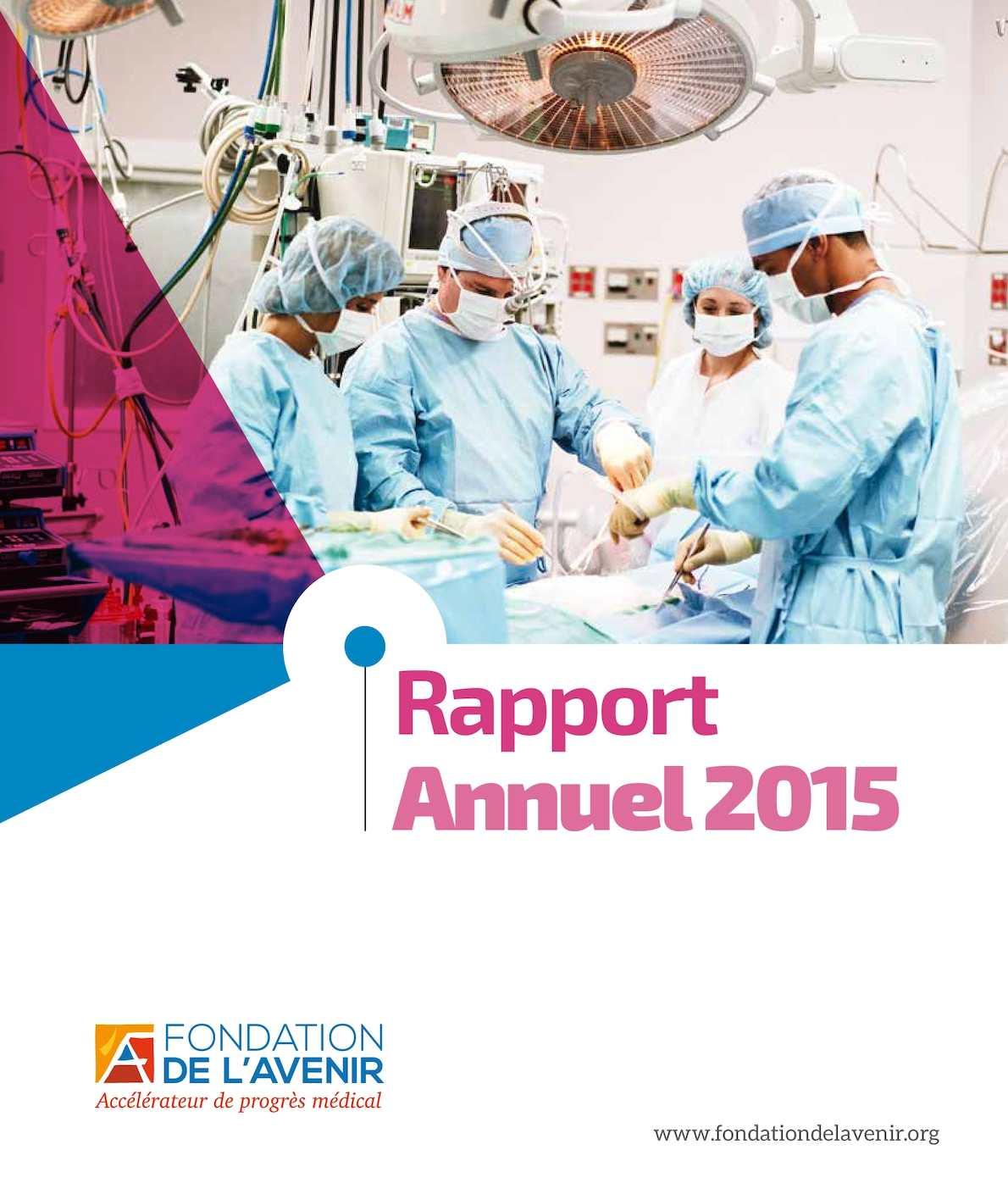 Calam o rapport annuel 2015 fondation de l 39 avenir - Clinique mutualiste de la porte de l orient ...