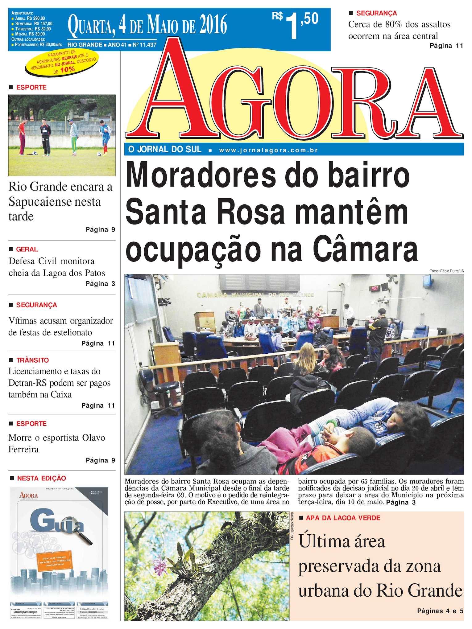 Calaméo - Jornal Agora - Edição 11437 - 4 de Maio de 2016 0abba190a6