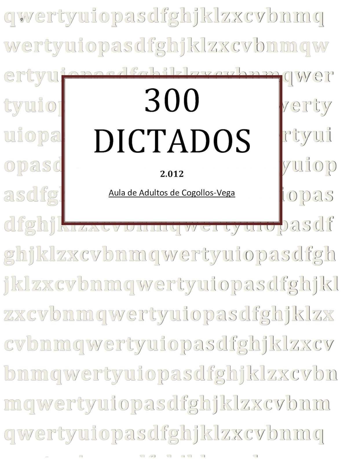 Calaméo - 300 Dictados