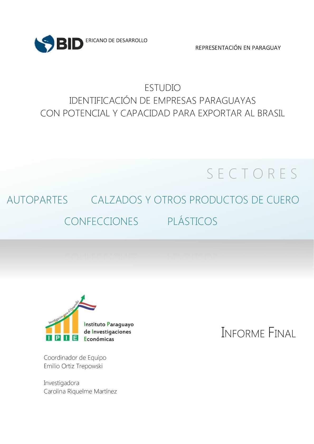 Calaméo - Estudio 4sectores Informe Final 290416