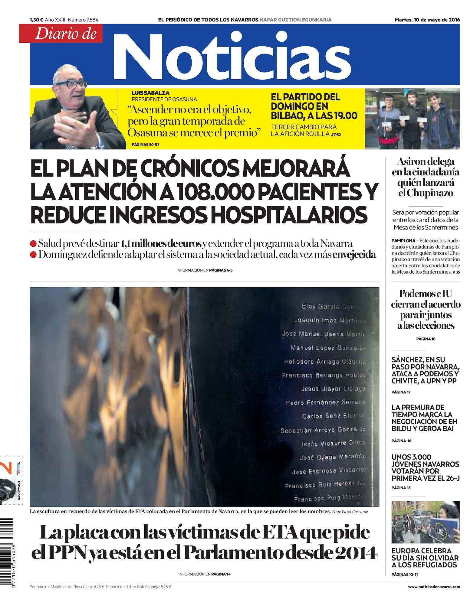 Calaméo - Diario de Noticias 20160510