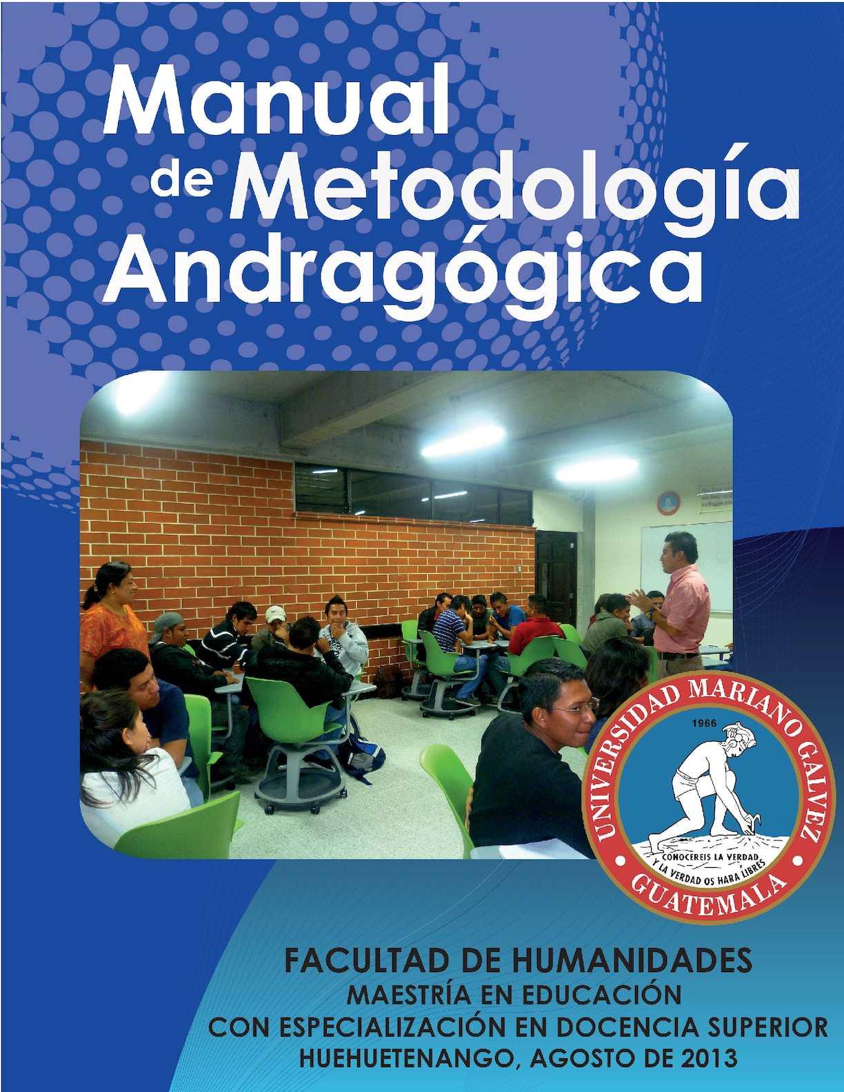 Manual De Metodologia Andragogica Final Copia