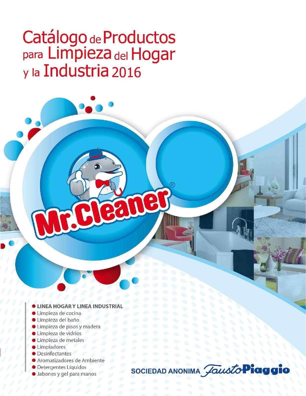 Catalogo Limpieza 2016