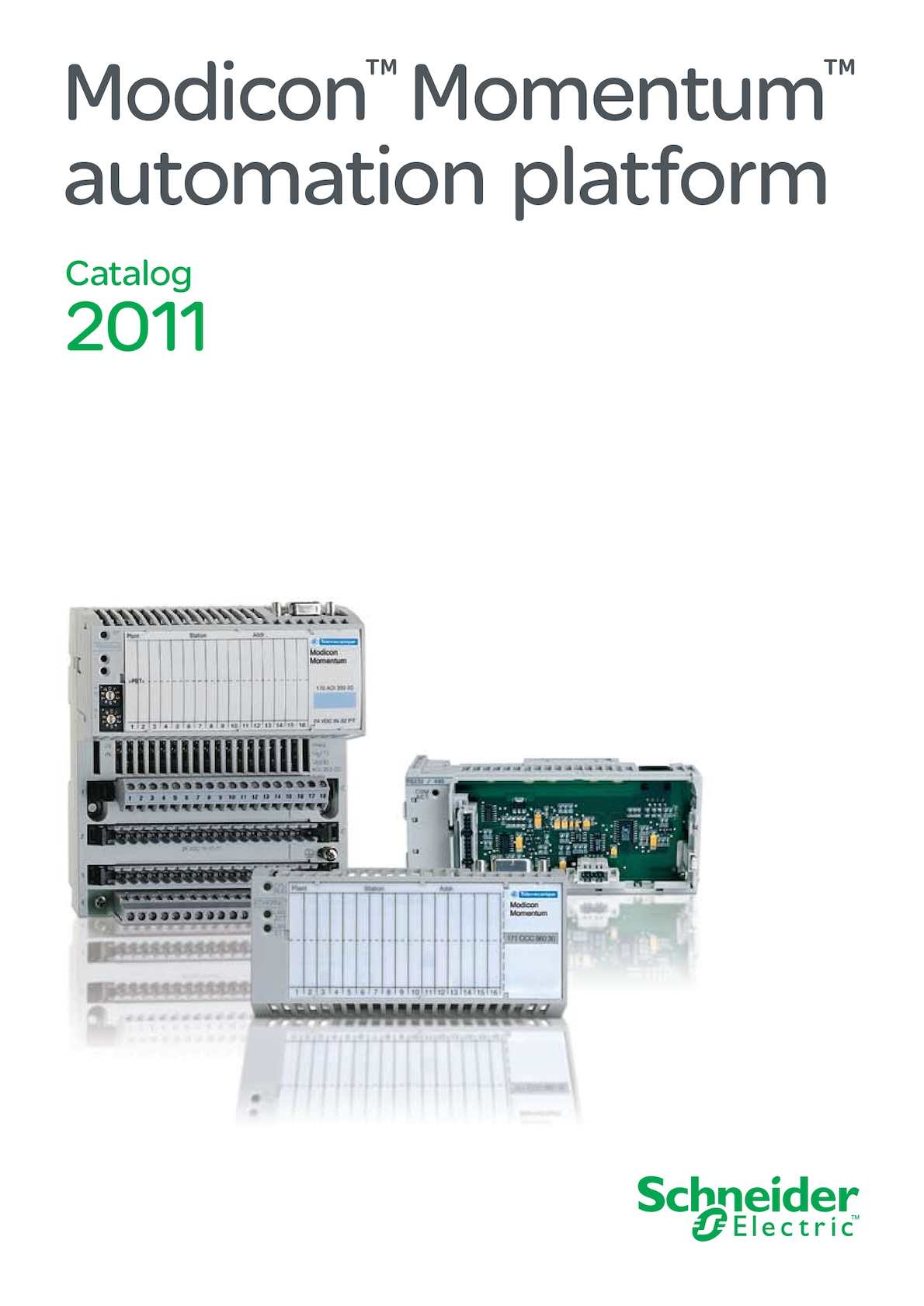 Calamo Catalogo Modicon Momentum Automation Platform Modbus Plus Wiring