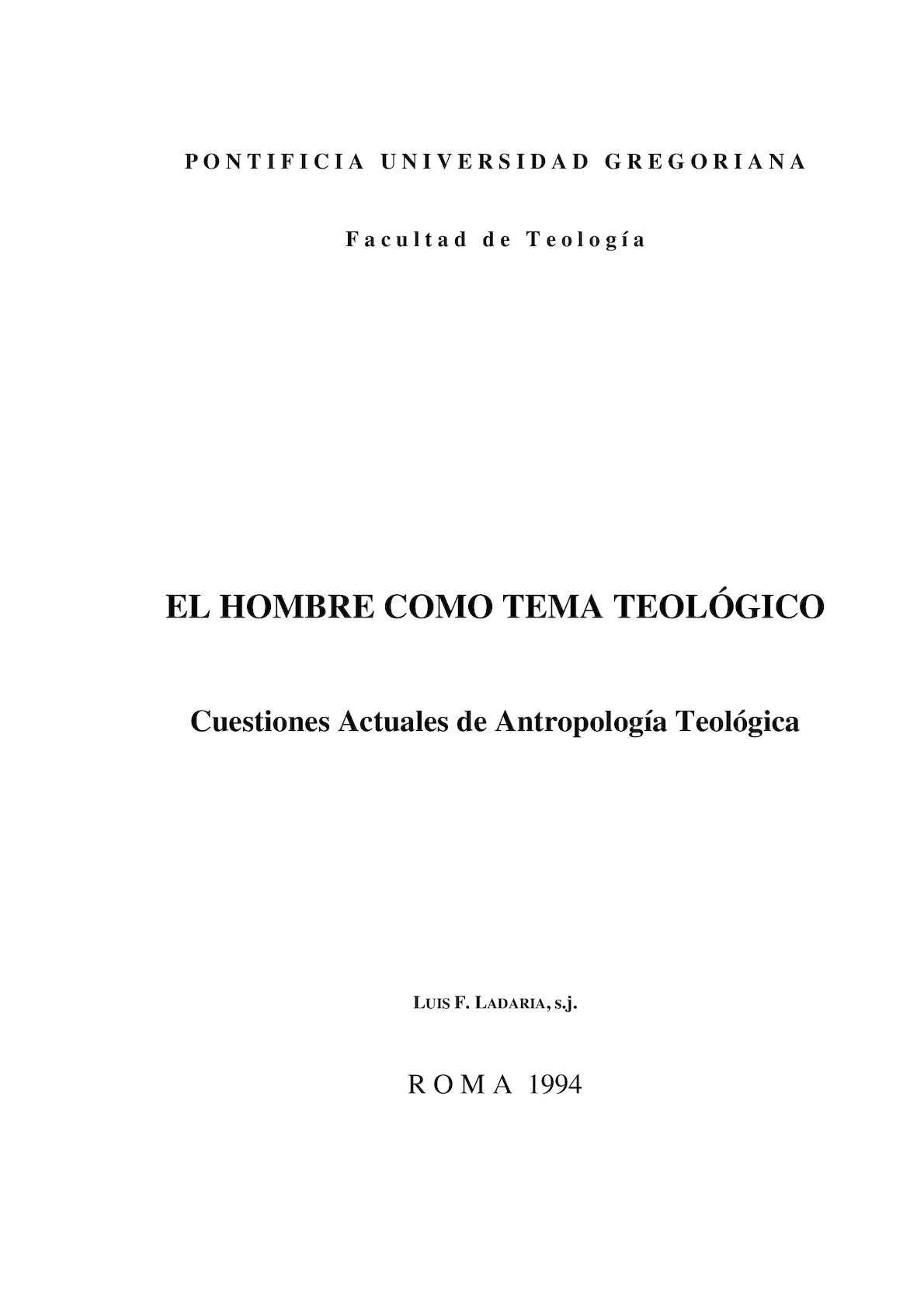 Luis Ladaria_Cuestiones Actualeds de Antropología Teológica