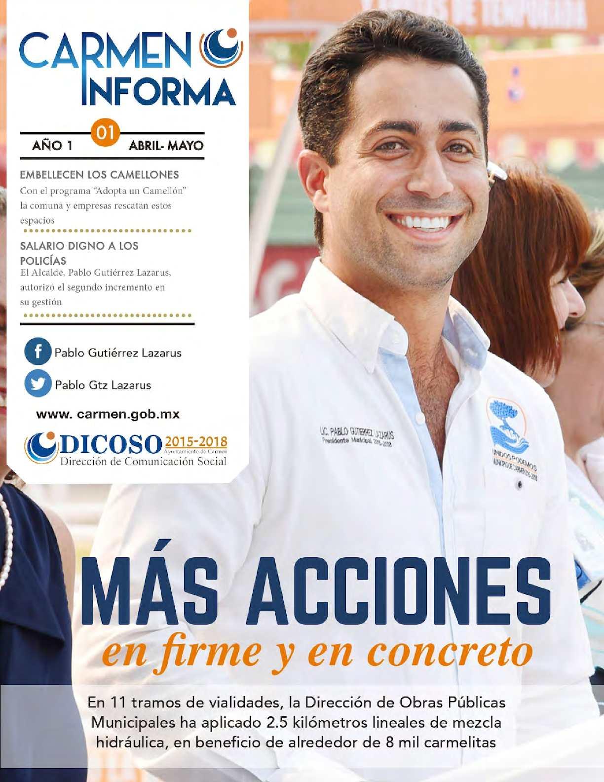 Gaceta Digital Primera Edición Abril Mayo