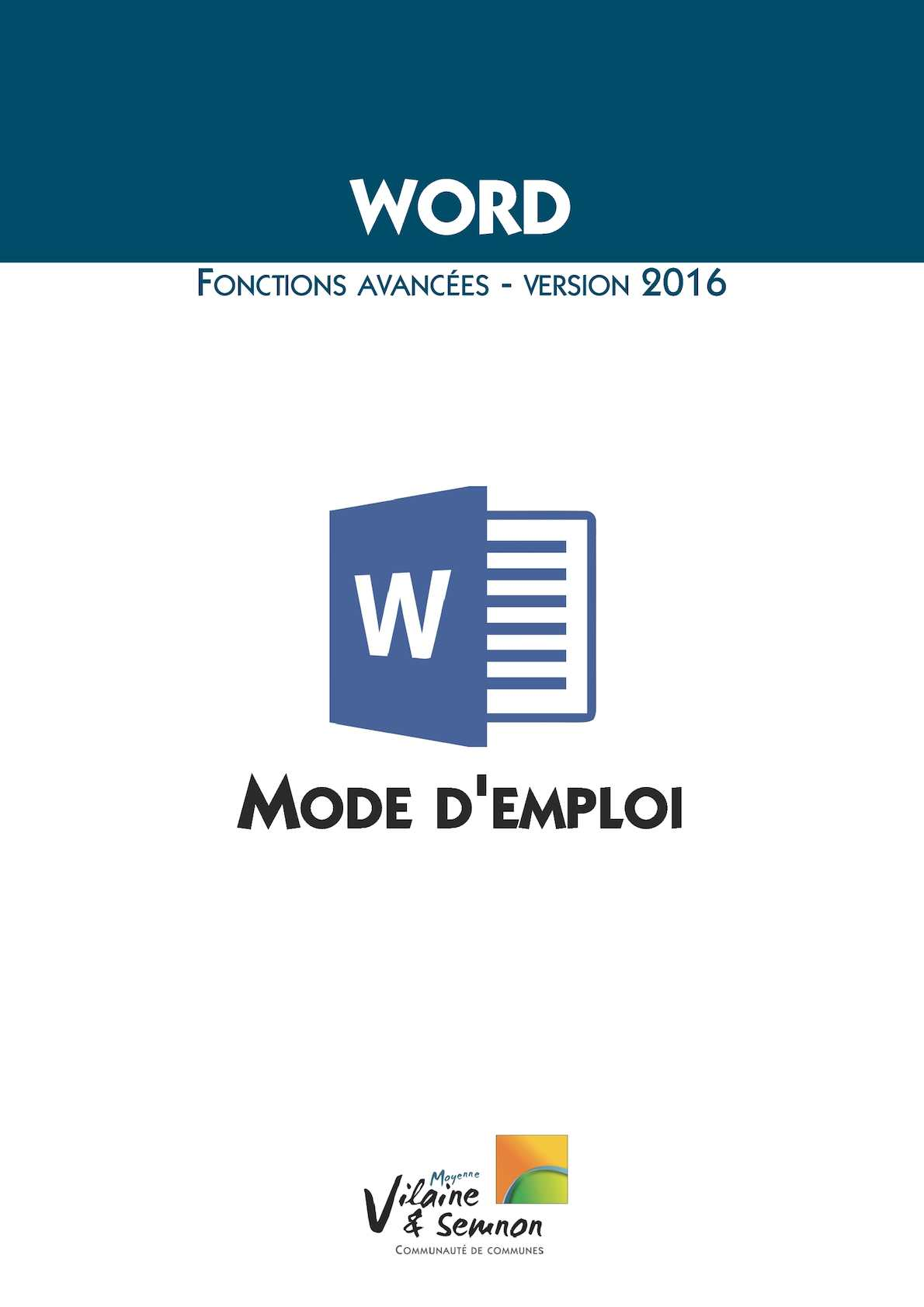 Calam o word 2016 mode d 39 emploi for Alarme verisure mode d emploi
