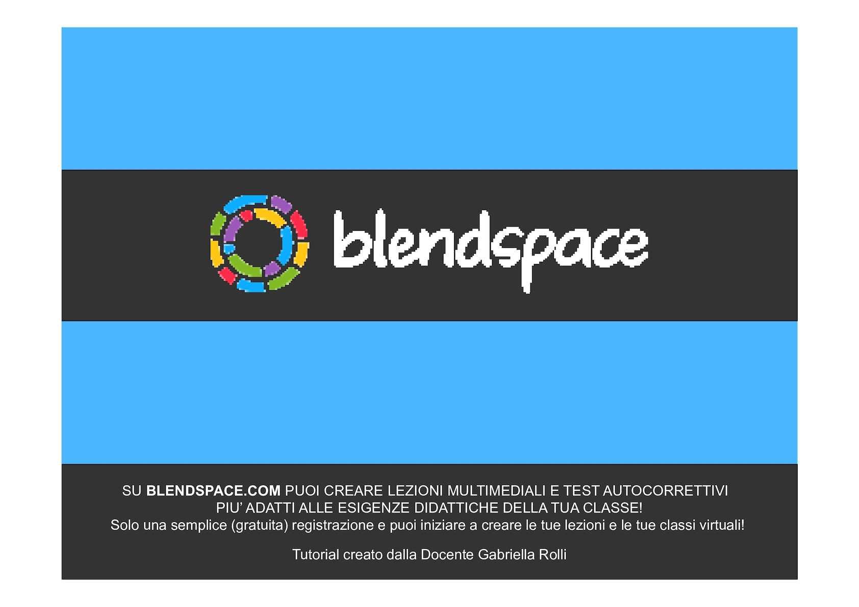 Blendspace 2016