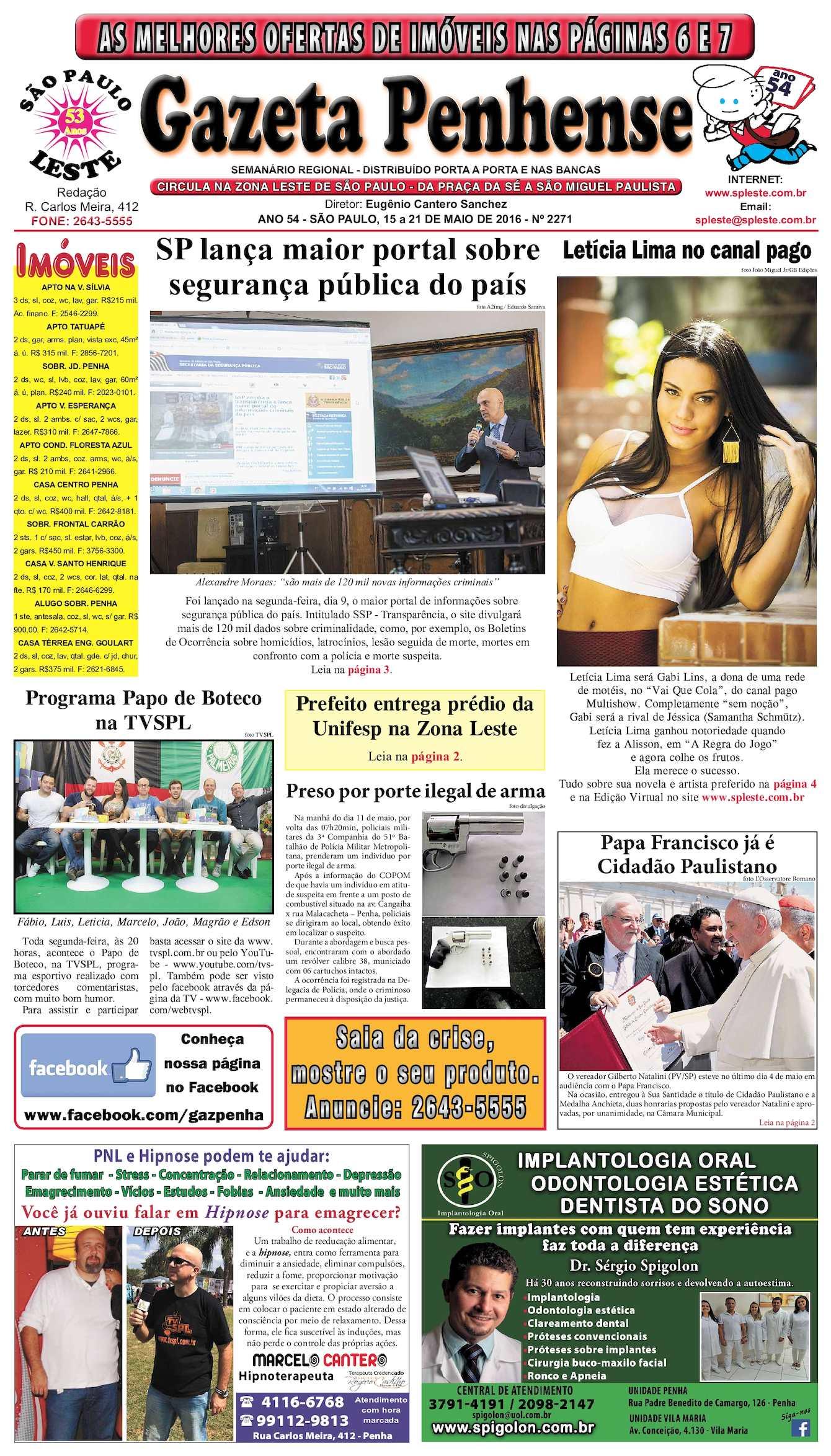 Calaméo - Gazeta Penhense - edição 2271 - 14 a 21.05.16 db7a253771