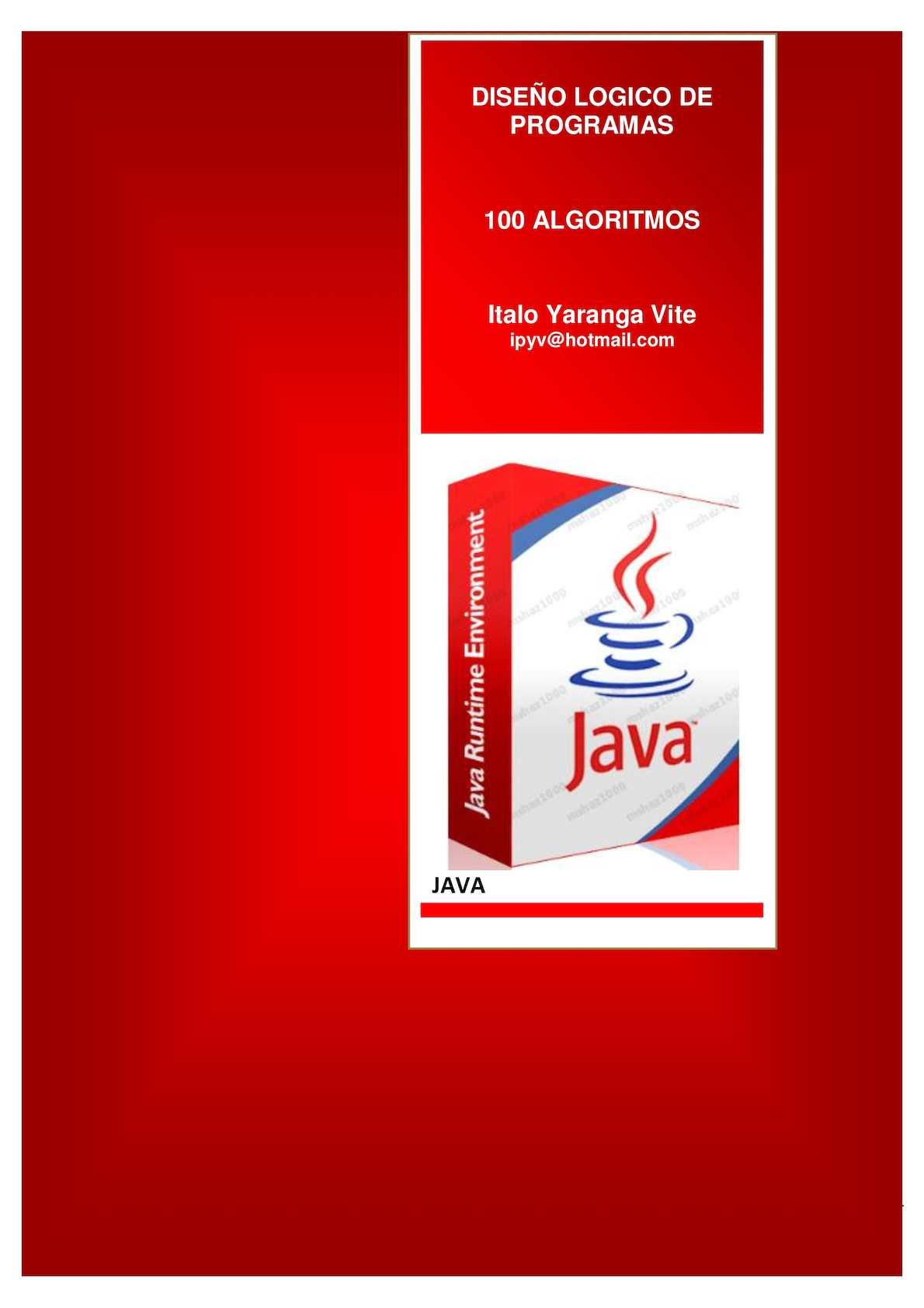 Fundamentos De Programacion Java