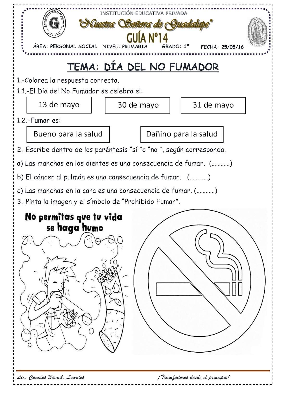 Calaméo - El Día Del No Fumador