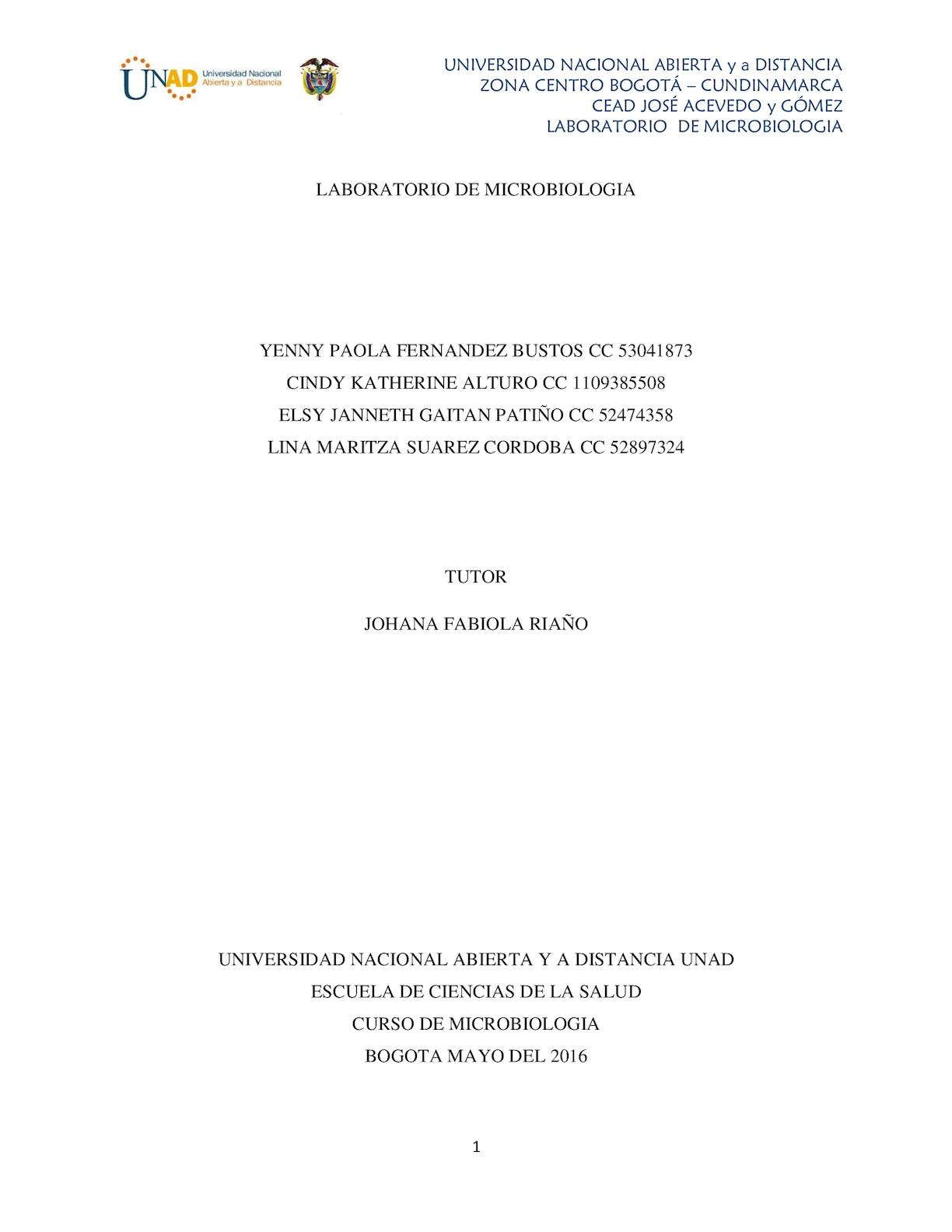 Calaméo - Informe Laboratorio Microbiologia 2 (1)final