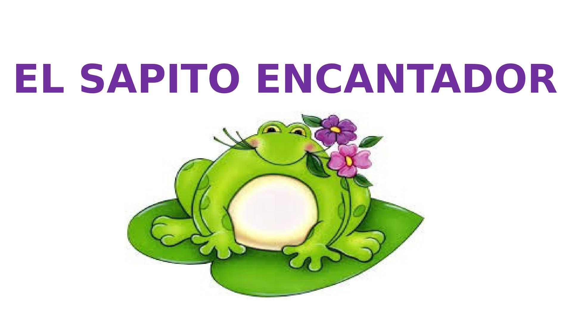 Cuento El Sapito