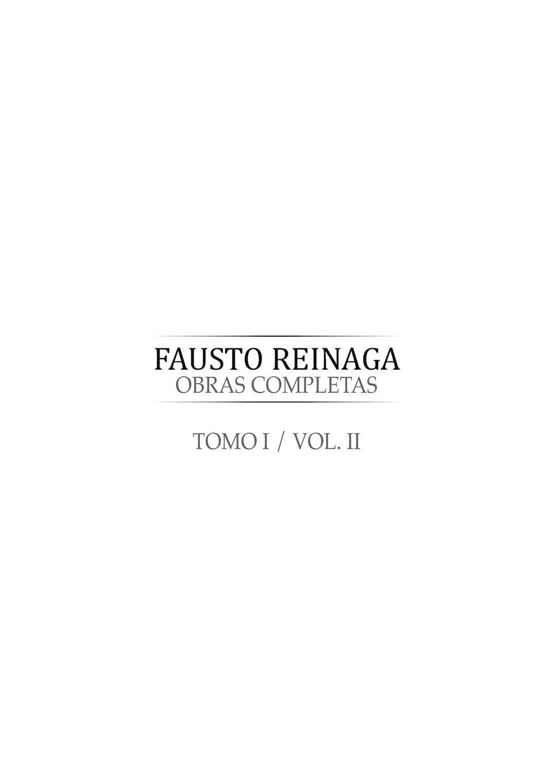 Calaméo - Fausto Reinaga Tomo 2. Obras Completas
