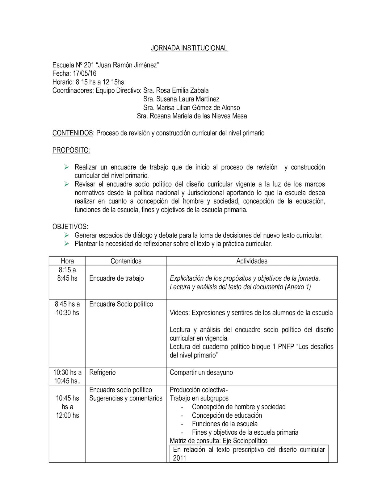 Calaméo - Jornada Institucional Mayo 2016