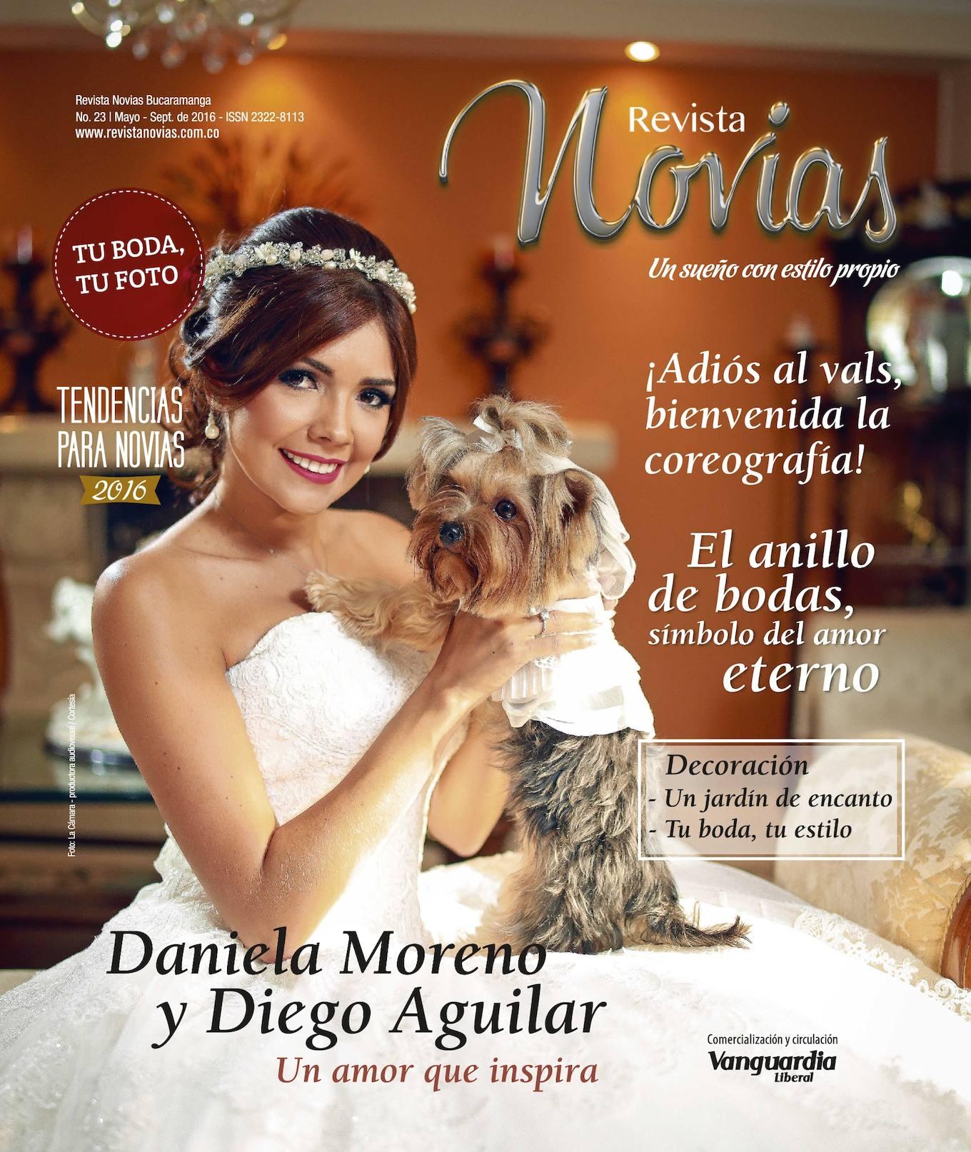 Revista Novias, Mayo de 2016