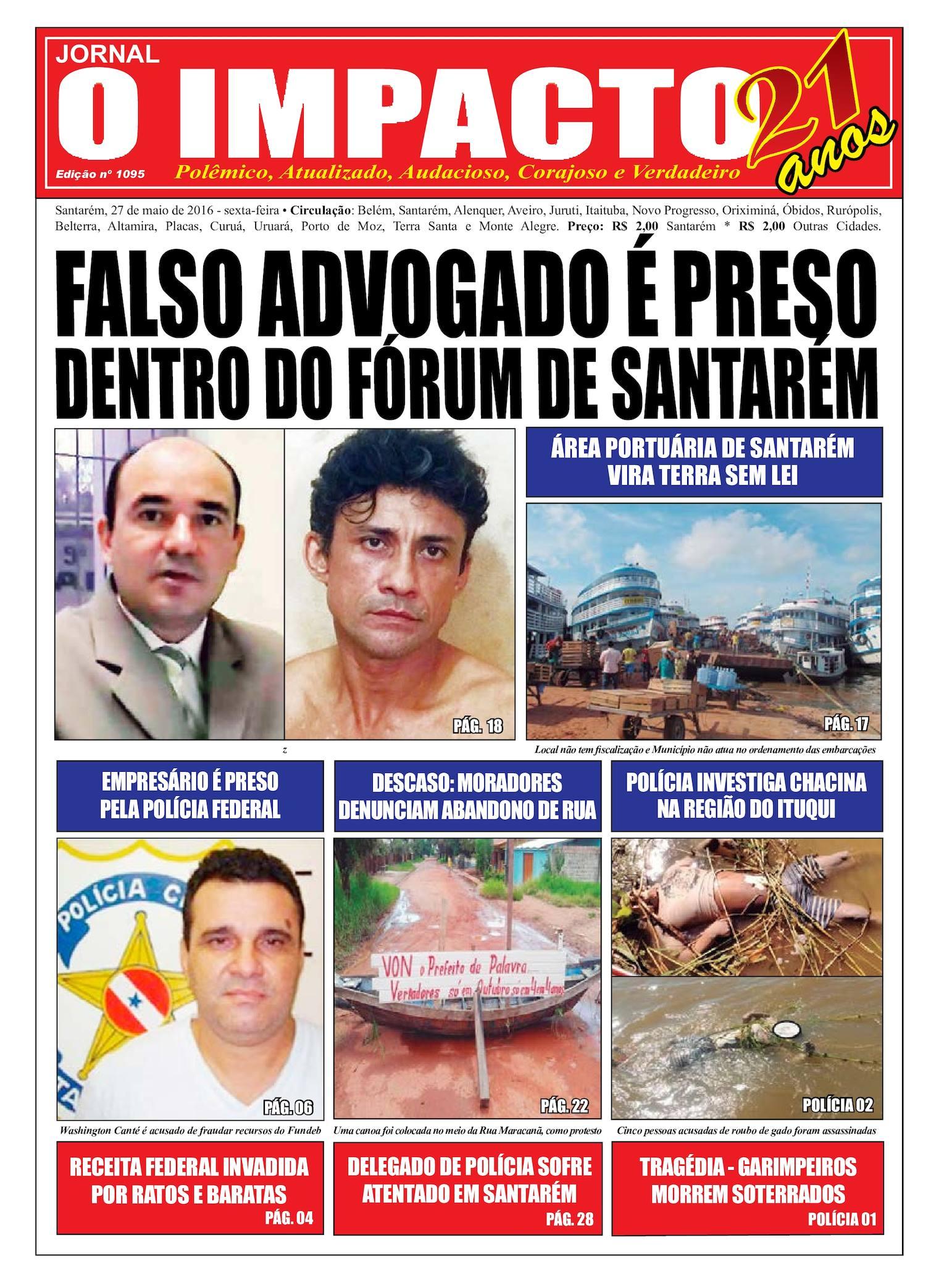 Calaméo - Jornal O Impacto Ed. 1095 400728a167bf1
