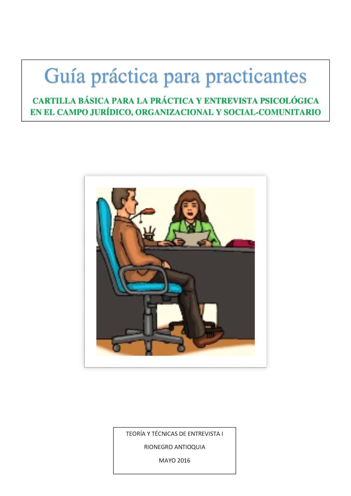 Guía práctica para practicantes