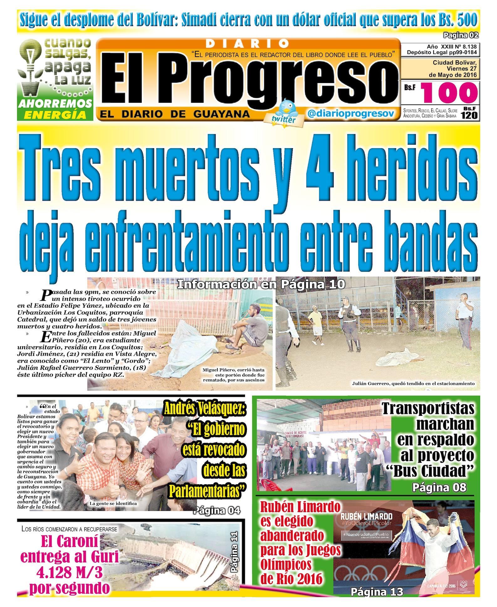 Calaméo - Diarioelprogresoedicion digital 27-05-2016