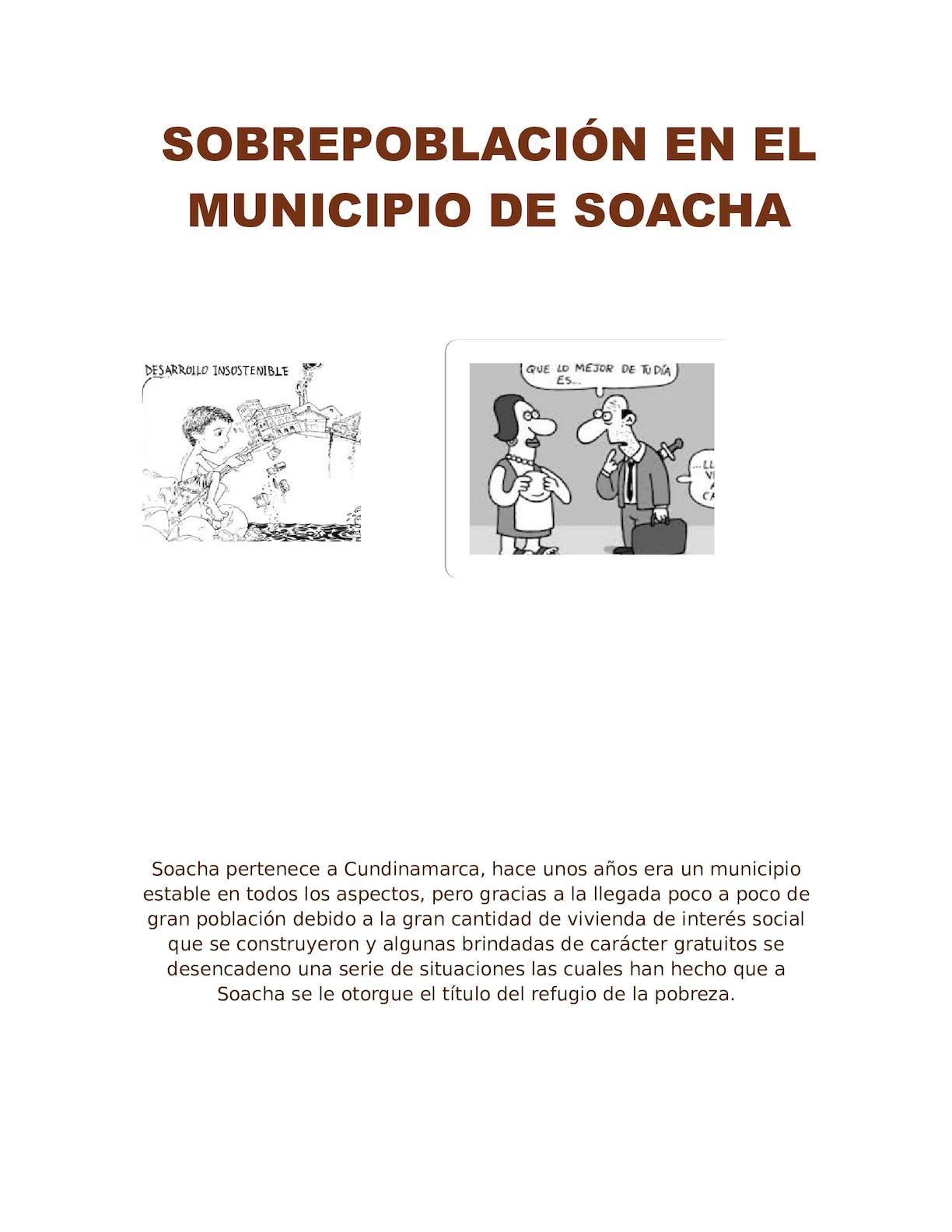Sobrepoblacion En Soacha