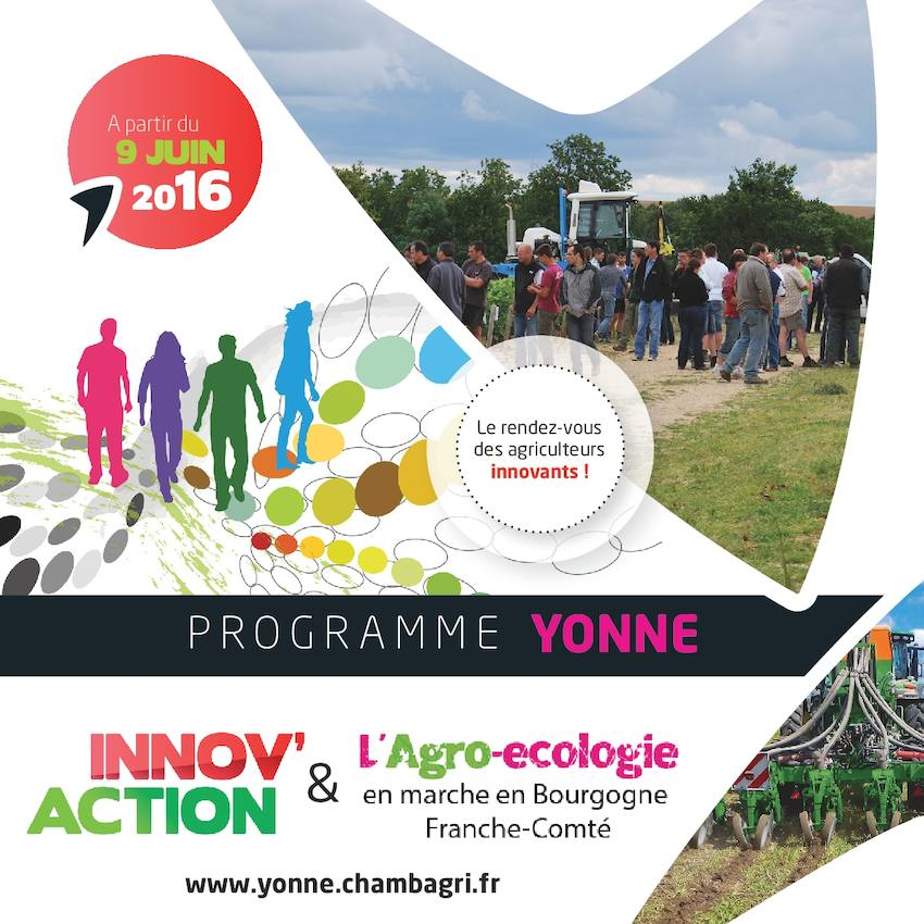 Calam o programme yonne 2016 - Chambre agriculture yonne ...