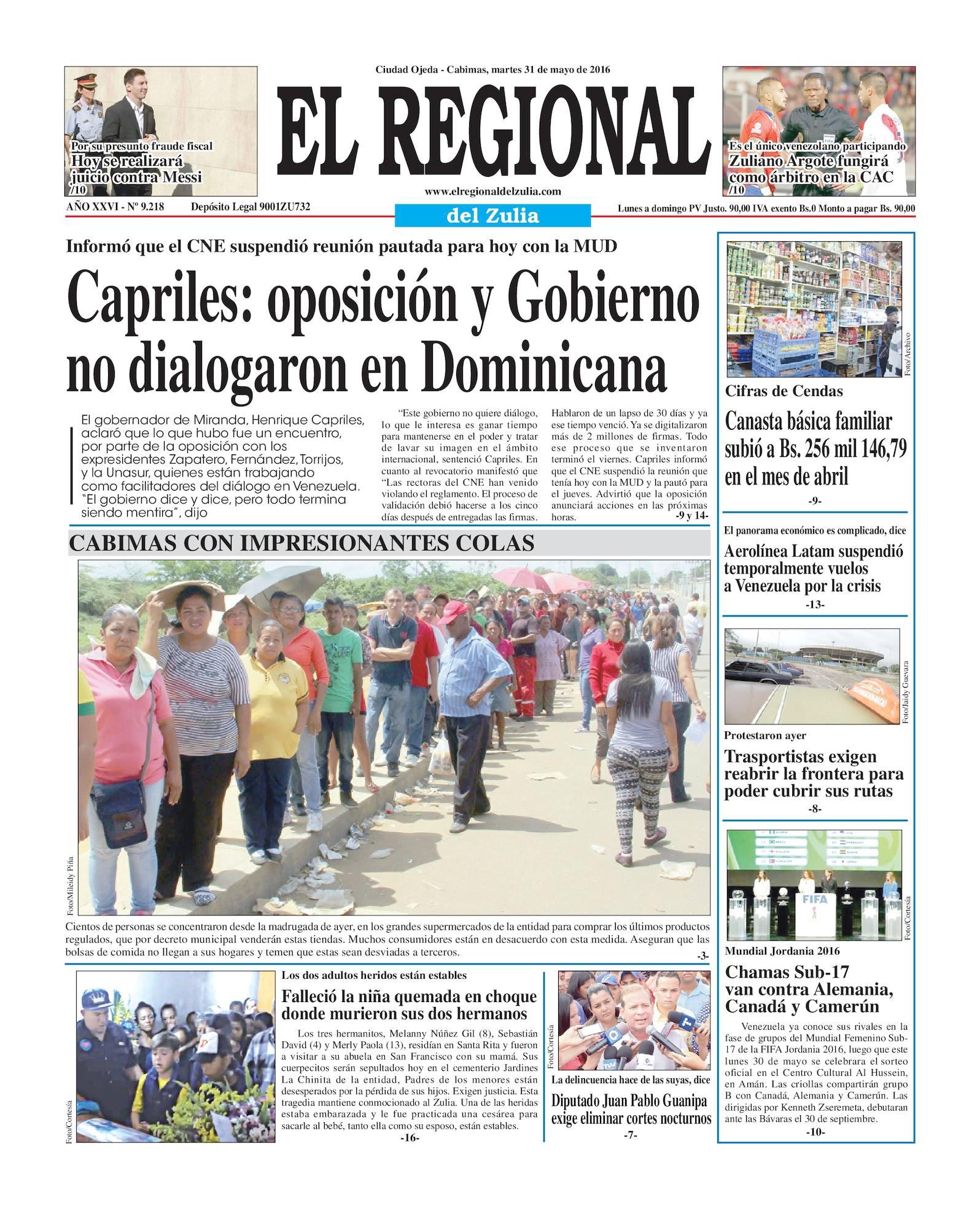 Calaméo - El Regional del Zulia 31-05-2016