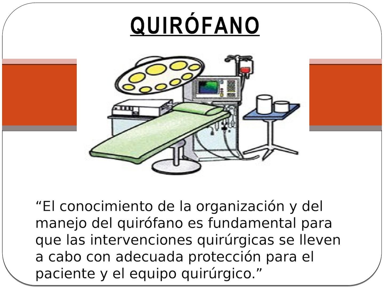 Circuito Quirurgico : Calaméo quirófano
