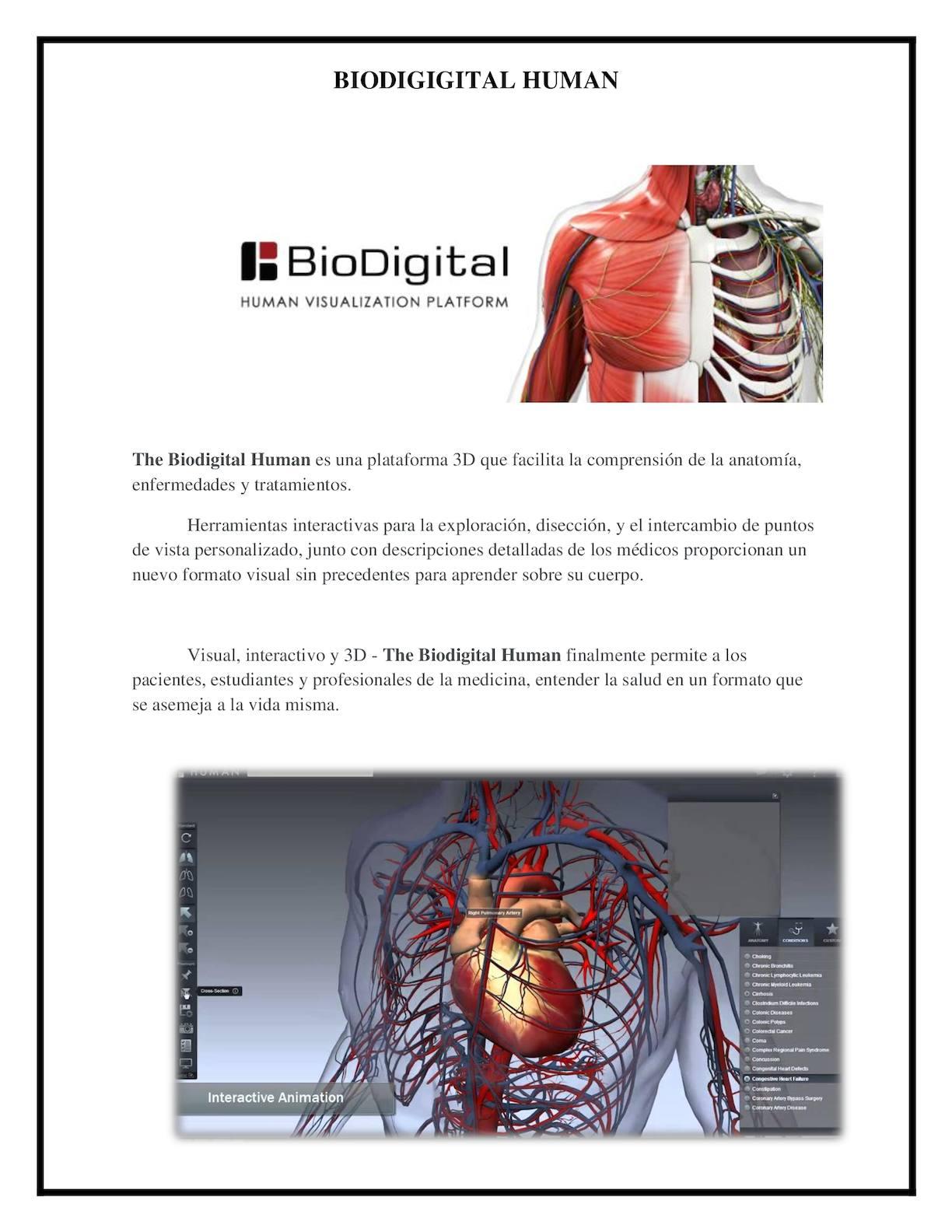 Calaméo - Biodigigital Human