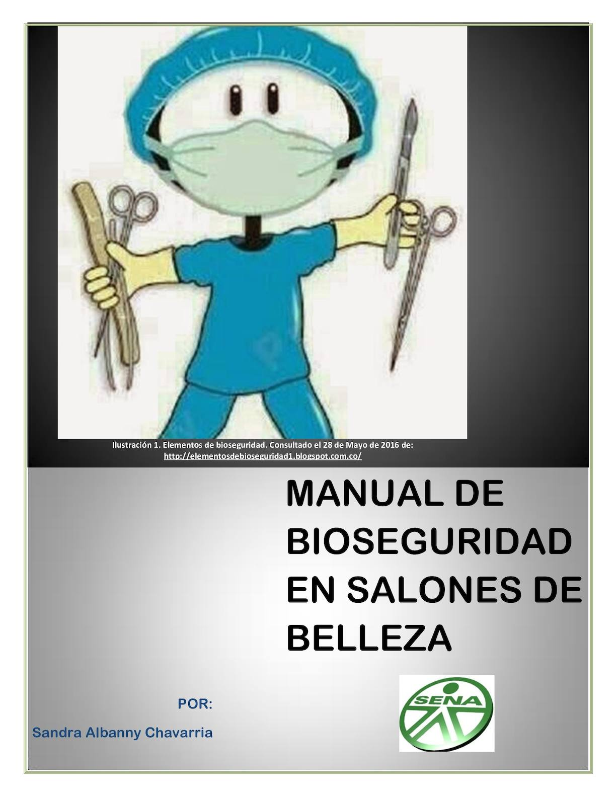 Calam o manual de bioseguridad for Administrar un salon de belleza