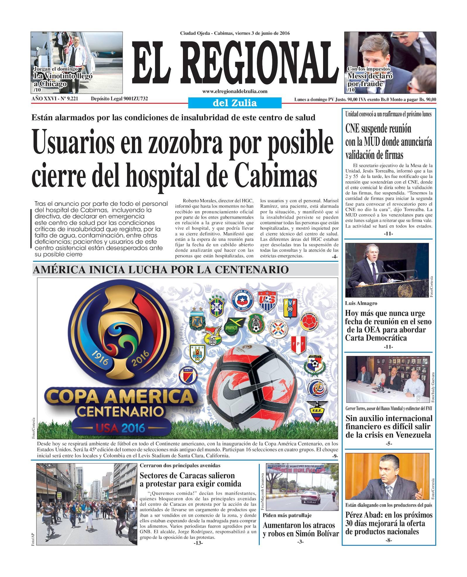 Calaméo - El Regional del Zulia 03-06-2016