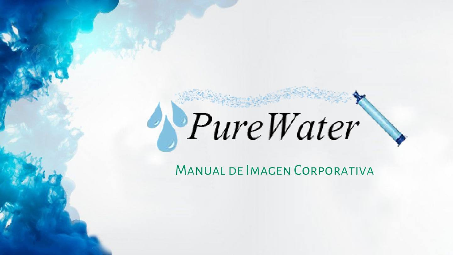 Imagen Corporativa Pure Water 5to A