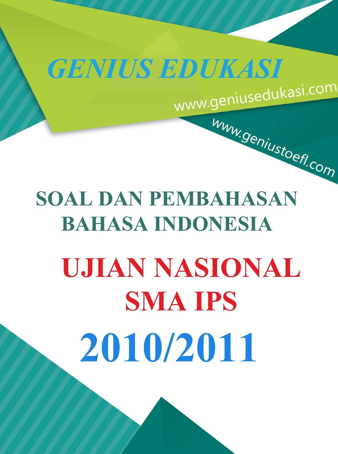 Calaméo Soal Dan Pembahasan Un Bahasa Indonesia Sma Ips 2010 2011