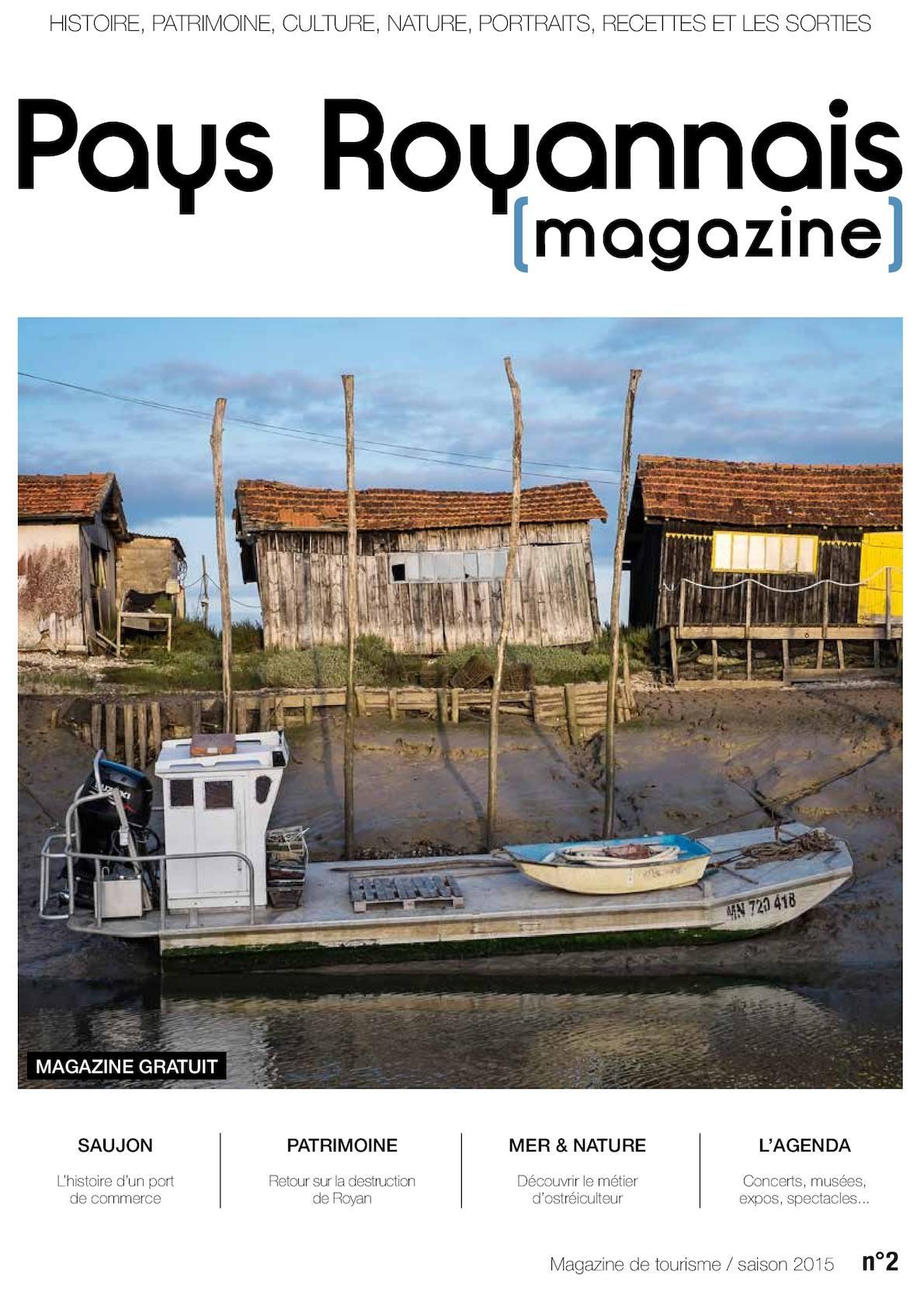 Calam o pays royannais magazine n 2 2015 - Office de tourisme saujon ...