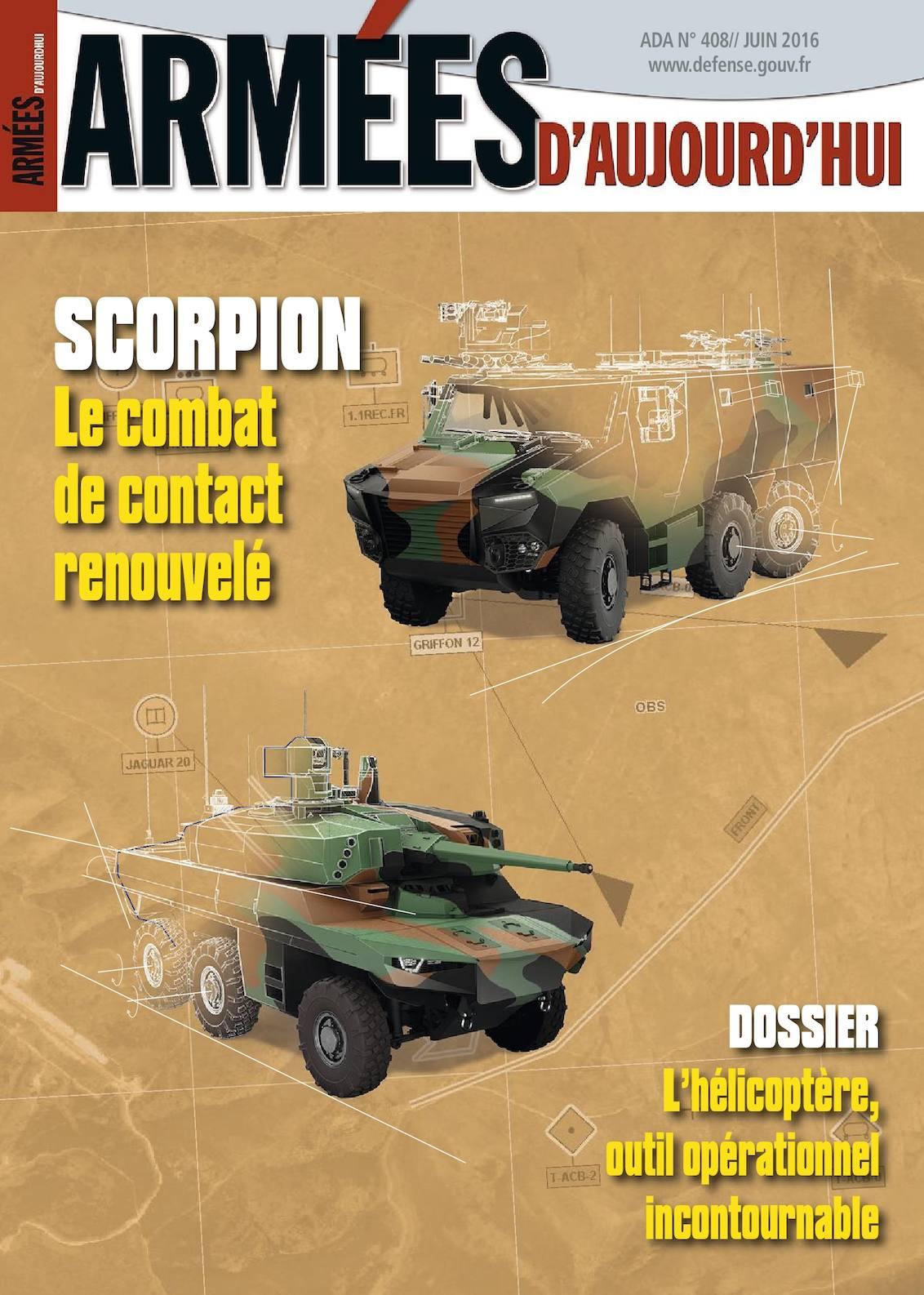 Armées d'Aujourd'hui n° 408 Juin 2016