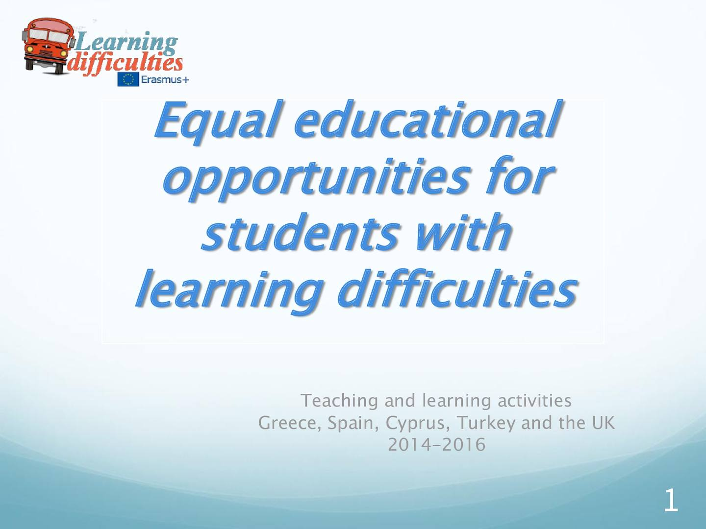 Calaméo - Equal Educational Opportunities for Students with Learning ...