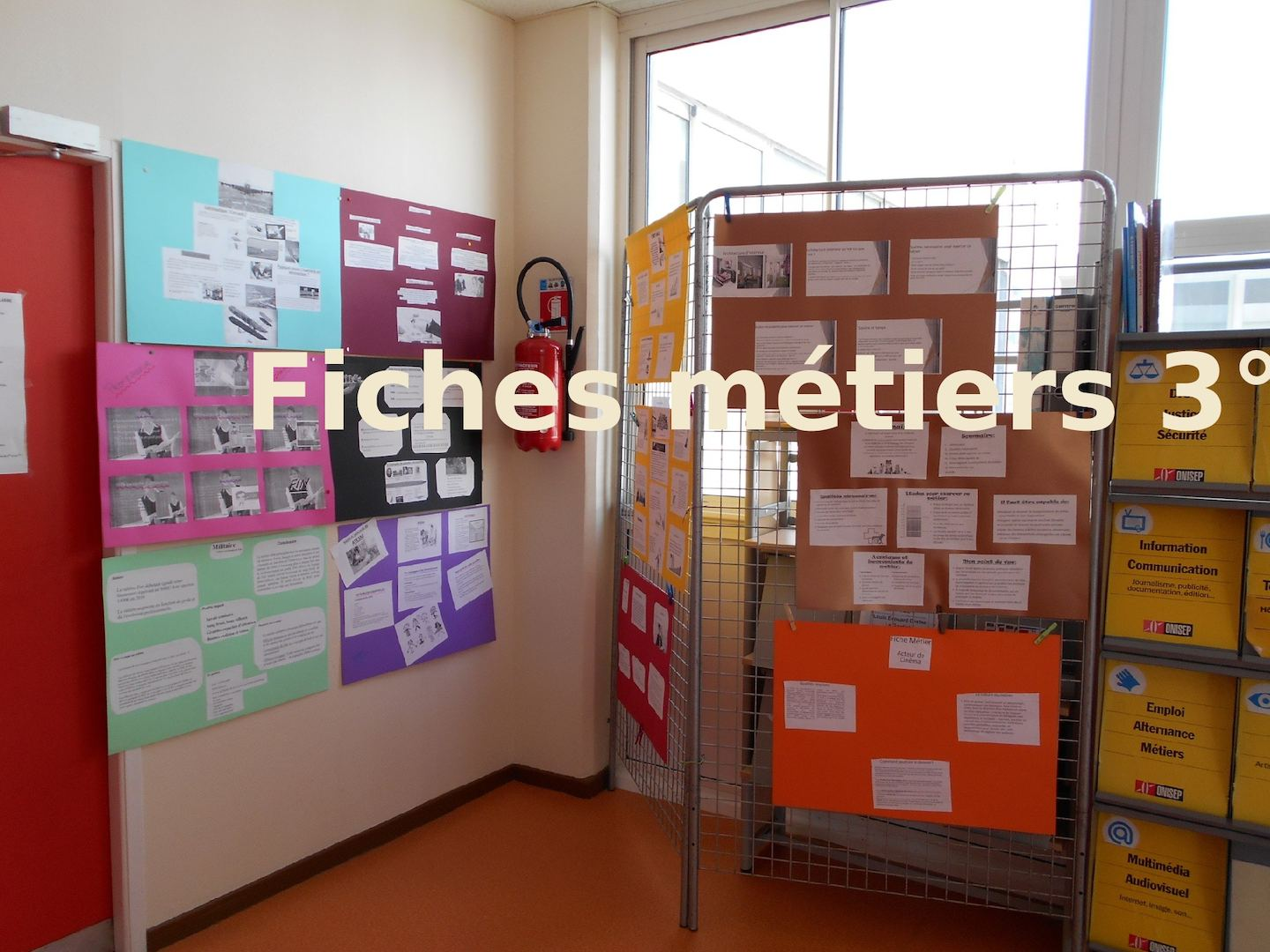 EXPO FICHES Métiers