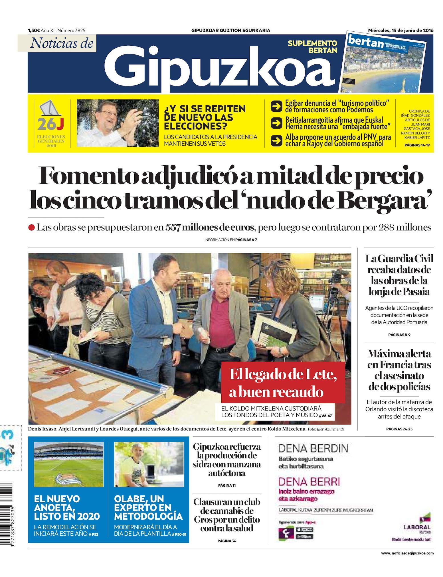 Calaméo - Noticias de Gipuzkoa 20160615