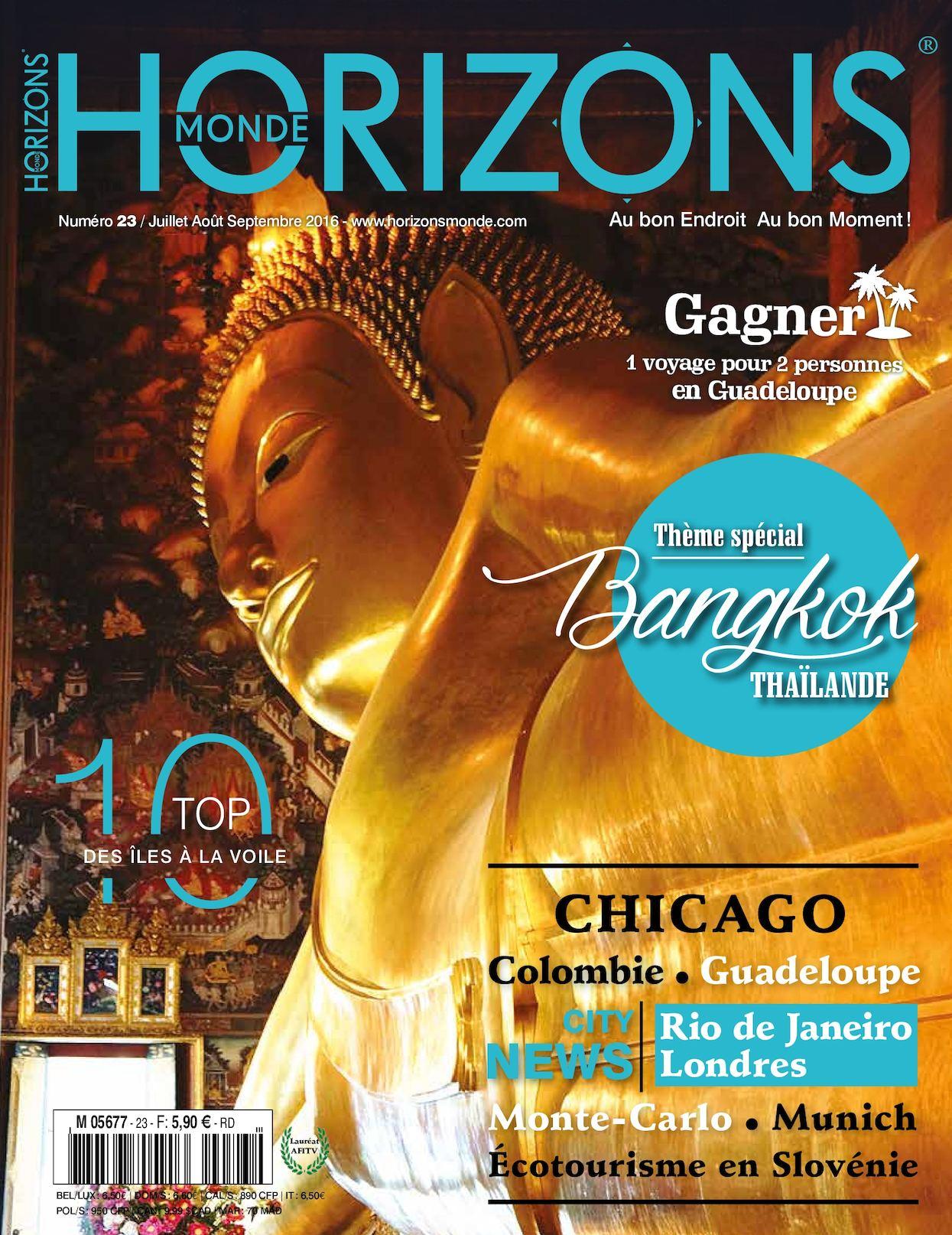 Horizons Monde 23 Version Imprimée éTé 2016
