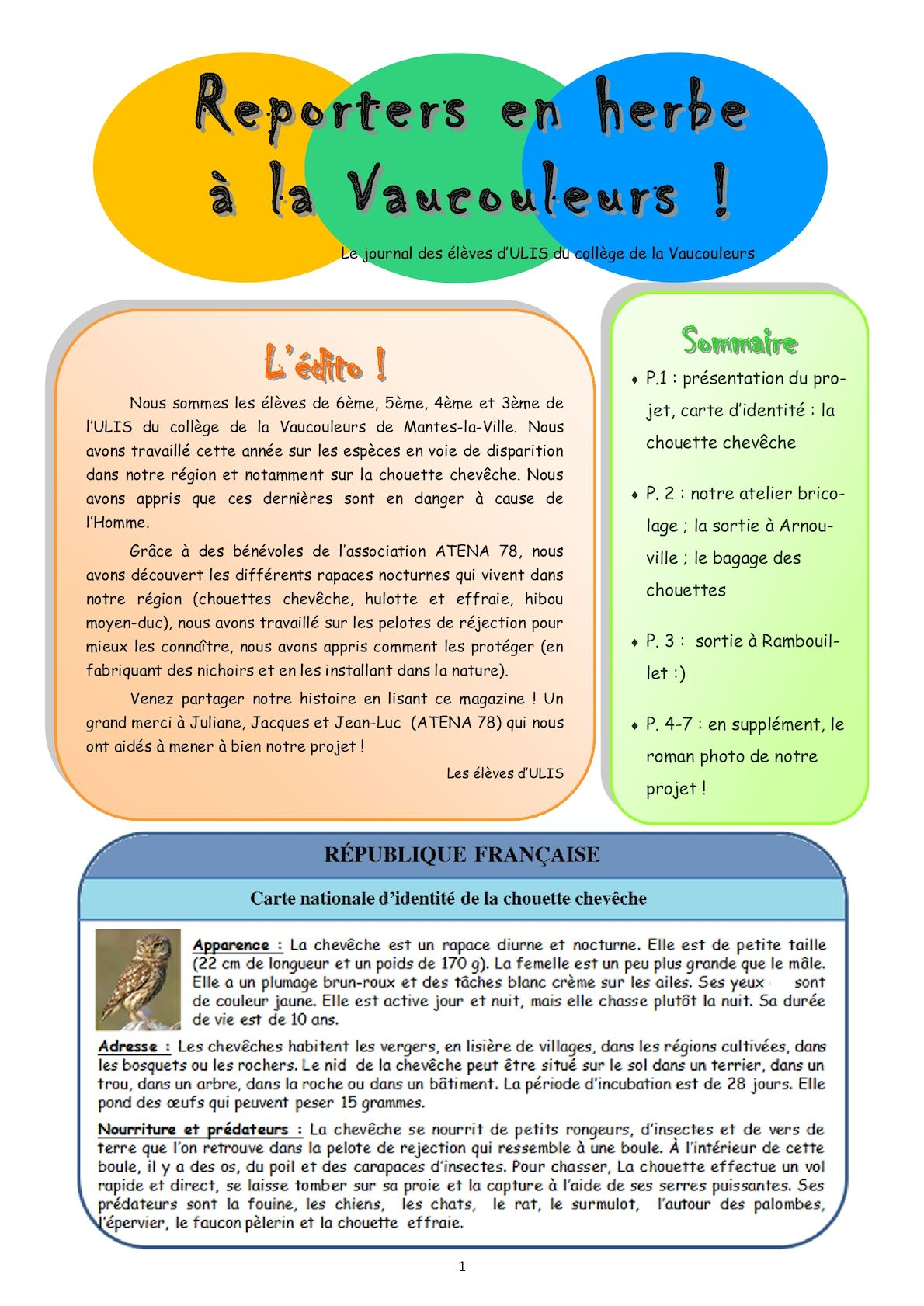 Ulis Journal Environnement