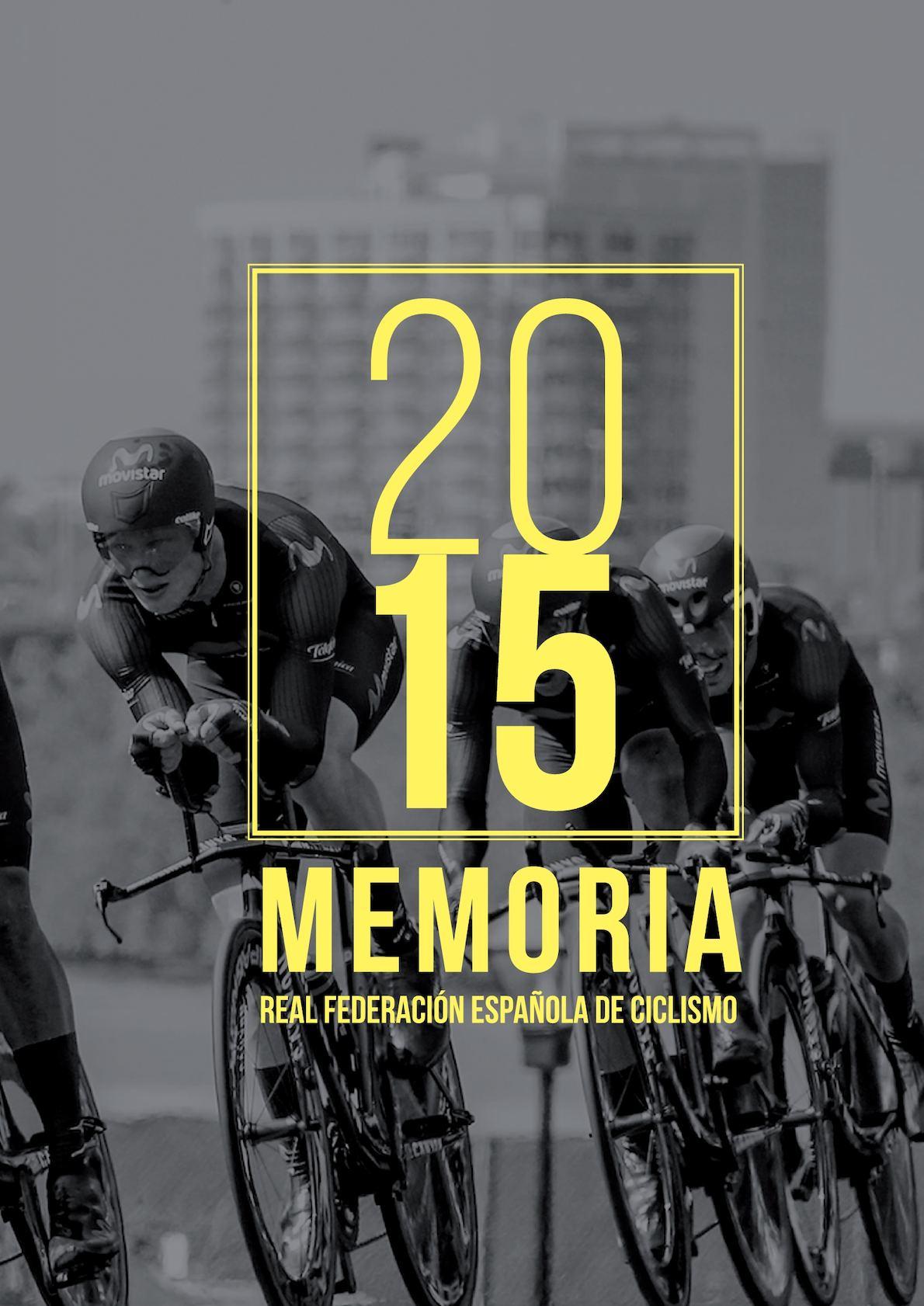 Memoria Rfec 2015