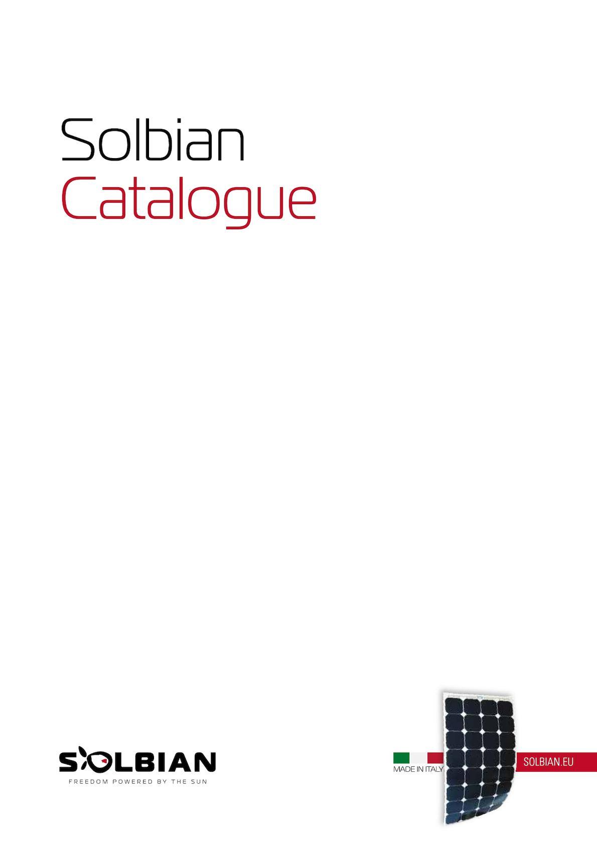 Calamo Solbian Catalog Eng Controller 145v Open Circuit Voltage Mppt Solar Charge