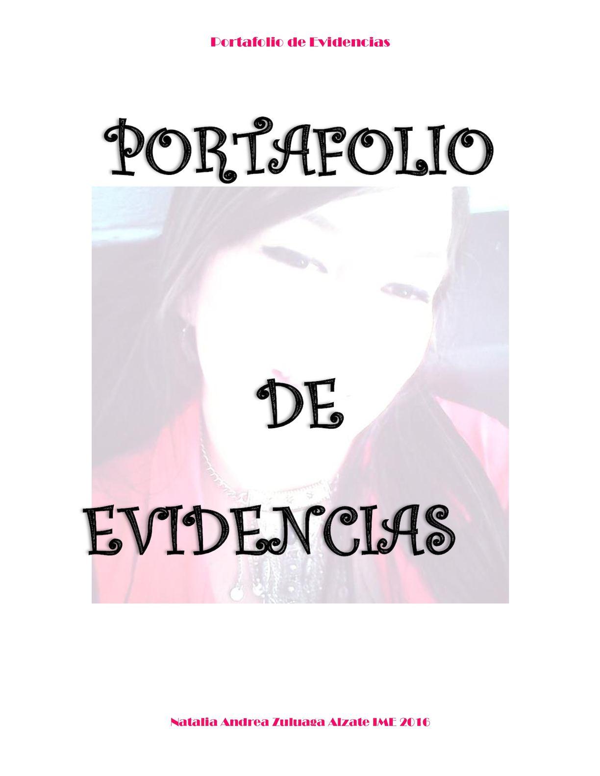 Calaméo - Portafolio De Evidencias Ime Natalia (1)